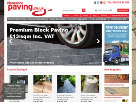 Clearance Paving Discount Code