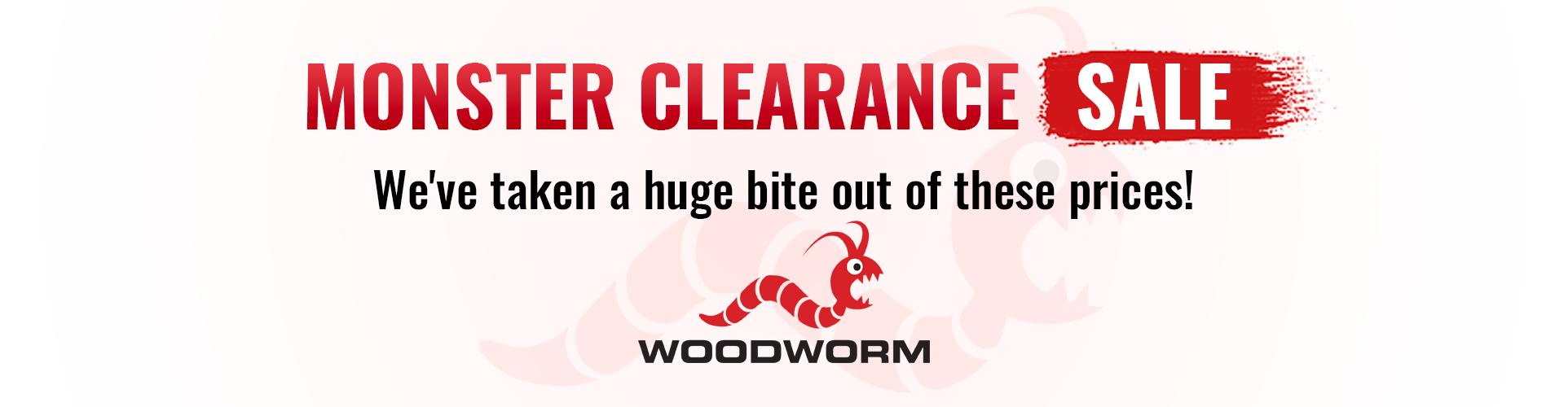 Woodworm Discount Code